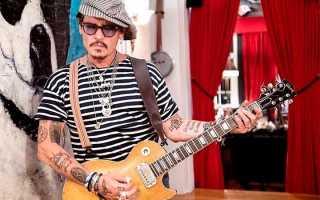 Джонни Депп: татуировки популярного актера