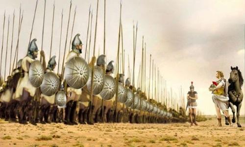 В 335 году до н.э. Македонский решил собрать свою армию и идти в направлении к Истре