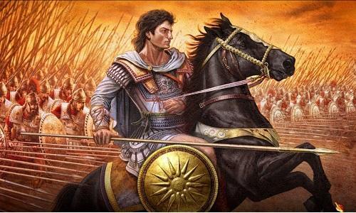 Александр Македонский подавил восстание фракийцев и подчинил Грецию