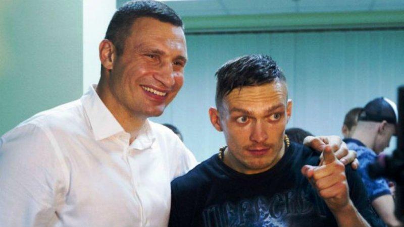 Усик и Кличко