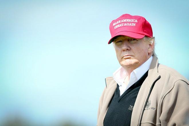 Успешный бизнесмен Дональд Трамп