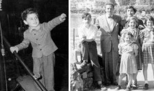 Джо Дассен с родителями.