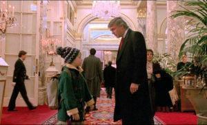 """Эпизодическая роль Трампа в х/ф """"Один дома 2"""""""