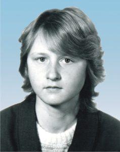 Ольга Данилова в школьные годы
