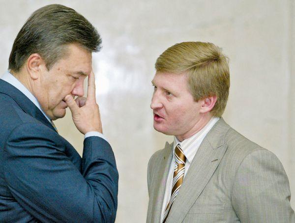 Ринат Ахметов и Янукович