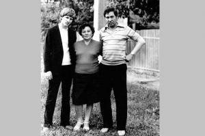 Родители Рината Ахметова