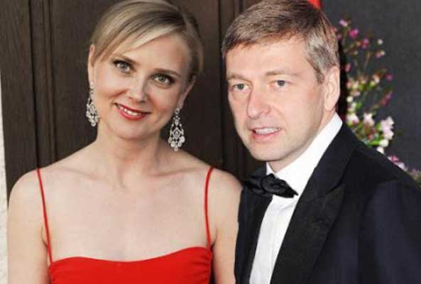 Елена Чупракова и ее муж Дмитрий