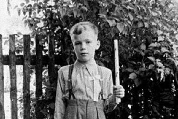 Арнольд в детские годы