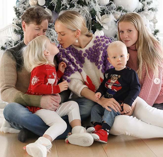 Татьяна корсакова с семьей