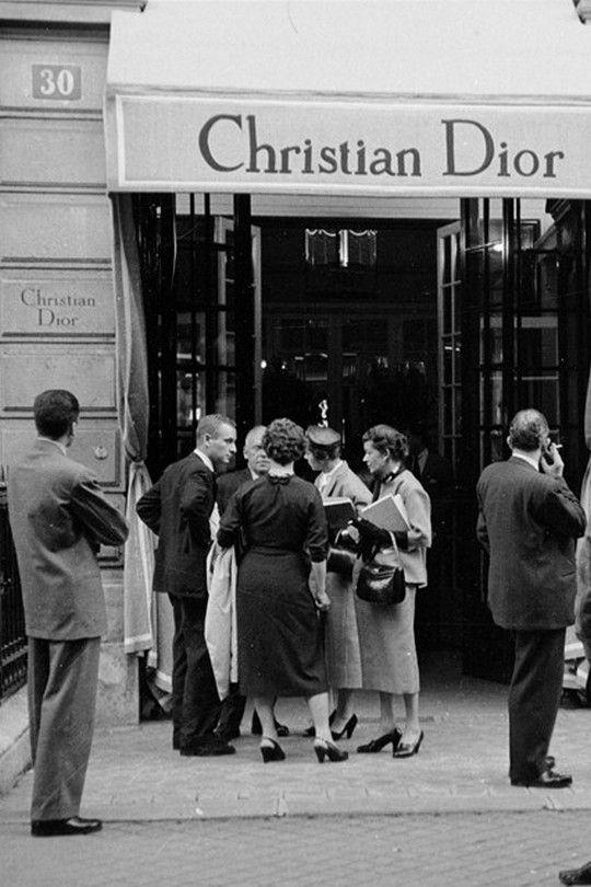 Кристиан Диор открытие дома моды