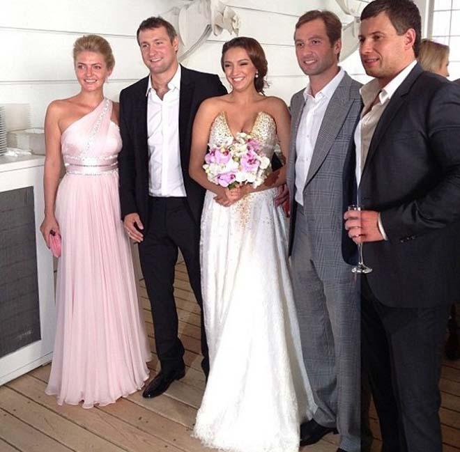 Евгения с мужем