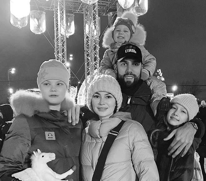 Ольга и ее семья