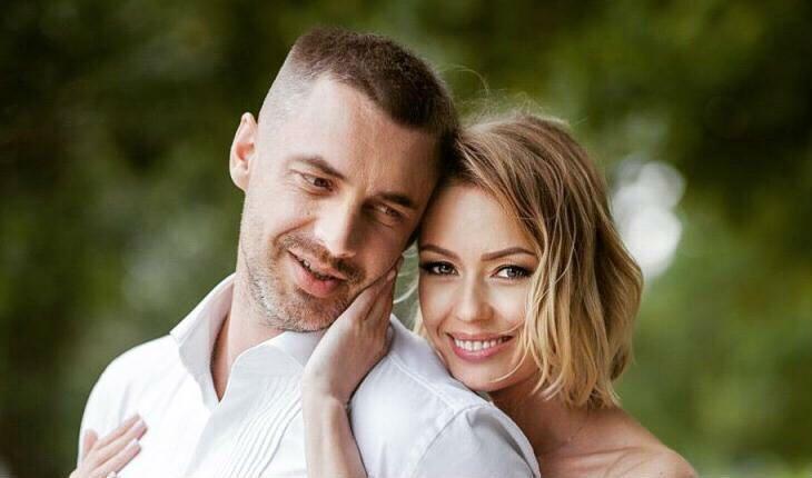 Антон Батыев с женой