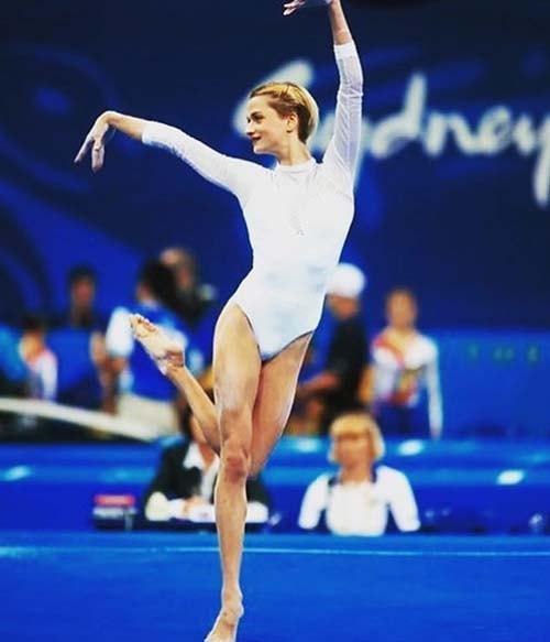 Светлана Хоркина начало спортивной карьеры