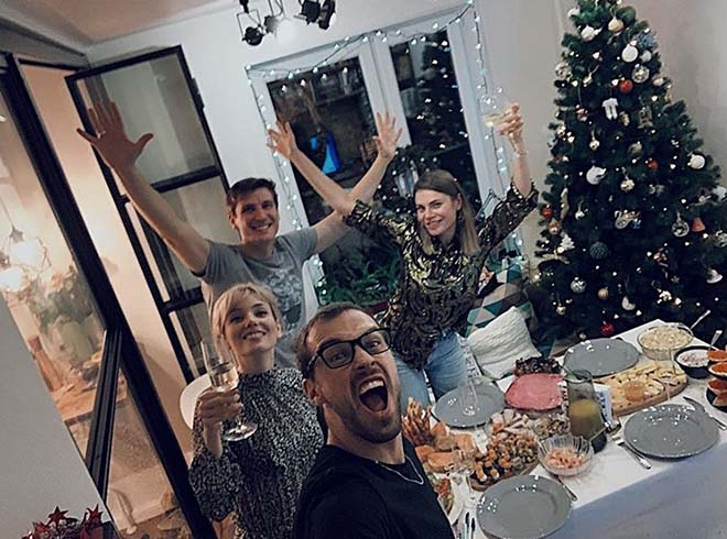 Елена Полянская - Старый Новый год с друзьями).