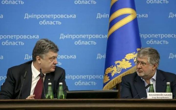 Игорь Коломойский и Петр Порошенко