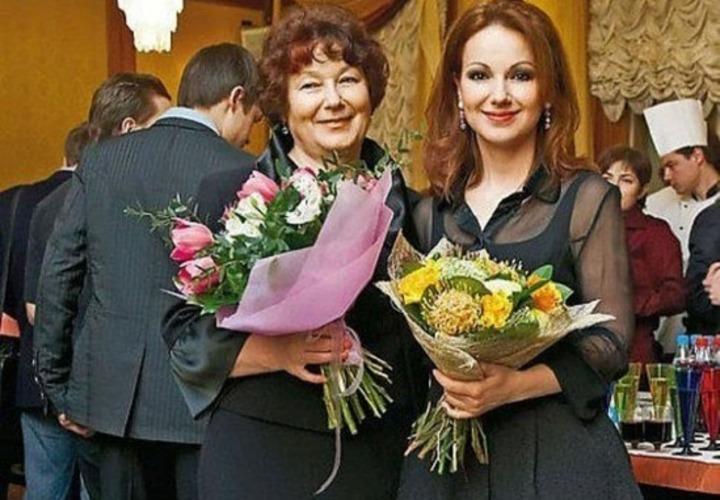 Ольга Будина с мамой