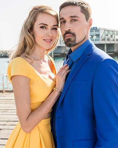 Ксения Сухинова и Дима Билан