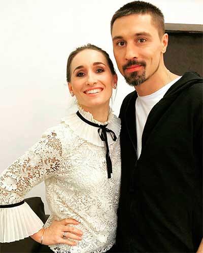 Анастасия Винокур и Дима Билан