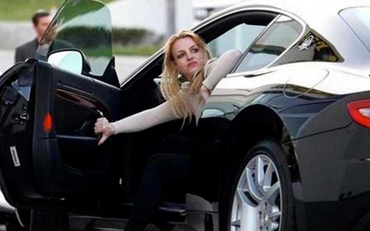 Все машины Бритни Спирс