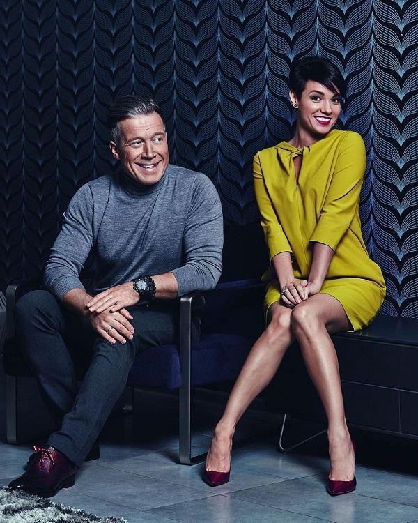 Алексей Кравченко с женой