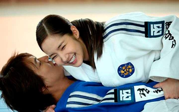 Мин Хо с Пак Мин Ён