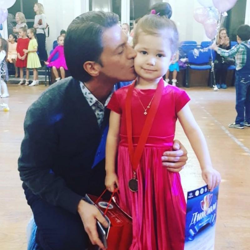 С дочерью